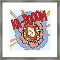 Ka-booom Framed Print by Gary Grayson