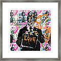 Love Chaplin Framed Print by Darren Scicluna
