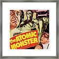 Man Made Monster, Aka The Atomic Framed Print by Everett
