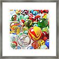 Many Marbles  Framed Print by Garry Gay