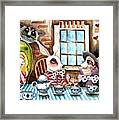 More Tea Framed Print by Lucia Stewart