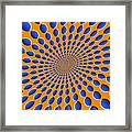 Optical Illusion Pods Framed Print by Michael Tompsett