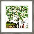 Ovids Pyramus And Thisbe Myth Framed Print by Photo Researchers