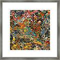 Paint Number 35 Framed Print by James W Johnson