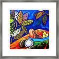 Papaya Morning Framed Print by Patti Schermerhorn