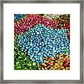 Shiny Sweets In Spice Market Framed Print by Image by Damian Bettles