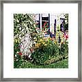 The Tangled Garden Framed Print by David Lloyd Glover