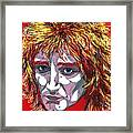 The Tartan Of Rod Stewart Framed Print by Suzanne Gee