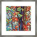 Tree Long Framed Print by Nadi Spencer