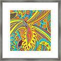 Tropical Sizzle Framed Print by Ramneek Narang