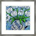 Tulip Tranquility Framed Print by Lisa  Lorenz
