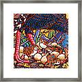 Turkeys Framed Print by Nadi Spencer