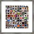 Two Hundred Series Framed Print by Boy Sees Hearts