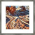 White Pocket Framed Print by Brent Parks