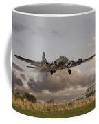 B17- 'airborne' Coffee Mug by Pat Speirs