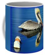 Blues Pelican Coffee Mug by Karen Wiles