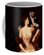 Invitation To The Waltz Coffee Mug by Francesco Miralles Galaup