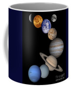 Solar System Montage Coffee Mug by Anonymous