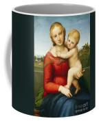 The Small Cowper Madonna Coffee Mug by Raphael Raffaello Sanzio of Urbino