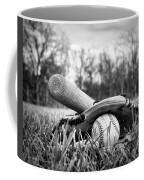 Backyard Baseball Memories Coffee Mug by Cricket Hackmann