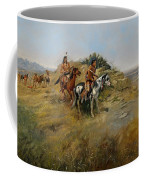 Buffalo Hunt Coffee Mug by Charles Marion Russell