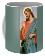 Christ Weeping Over Jerusalem Coffee Mug by Ary Scheffer