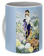 Kiku Coffee Mug by Haruyo Morita
