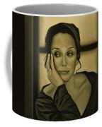 Kristin Scott Thomas Coffee Mug by Paul Meijering