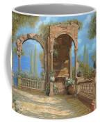 La Terrazza Sul Lago Coffee Mug by Guido Borelli