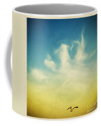 Lonely Seagull Coffee Mug by Setsiri Silapasuwanchai