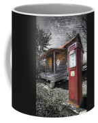 Old Gas Pump Coffee Mug by Debra and Dave Vanderlaan