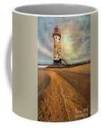 Point Of Ayre Lighthouse Coffee Mug by Adrian Evans