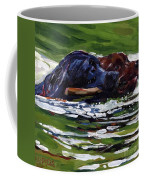 River Run Coffee Mug by Molly Poole