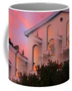 Sunset On Houses Coffee Mug by Augusta Stylianou