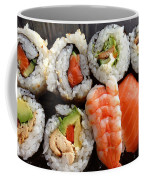 Sushi Coffee Mug by Les Cunliffe