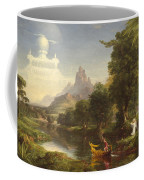 The Voyage Of Life Youth Coffee Mug by Thomas Cole