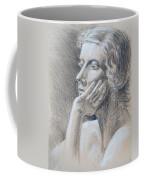 Woman Head Study Coffee Mug by Irina Sztukowski