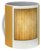 Wood Texture Coffee Mug by Les Cunliffe