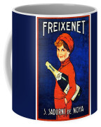 1920 - Freixenet Wines - Advertisement Poster - Color Coffee Mug by John Madison