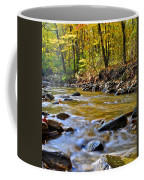 Autumn Stream Coffee Mug by Frozen in Time Fine Art Photography