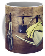 Garden Shed Coffee Mug by Amanda Elwell