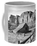 Horse Barn In Fruita Utah Coffee Mug by Jack Schultz
