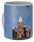 Independence Hall In Philadelphia Coffee Mug by Olivier Le Queinec