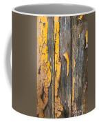 Old Wooden Background Coffee Mug by Carlos Caetano