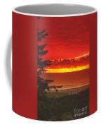Red Pacific Coffee Mug by Robert Bales