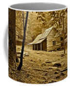 Smoky Mountain Cabin Coffee Mug by Frozen in Time Fine Art Photography