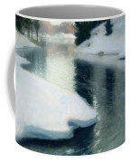 Spring Thaw Coffee Mug by Fritz Thaulow