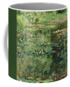 The Waterlily Pond Coffee Mug by Claude Monet