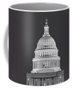 Us Capitol Dome Coffee Mug by Susan Candelario
