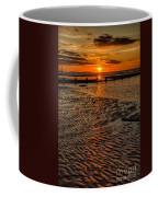 Welsh Sunset Coffee Mug by Adrian Evans